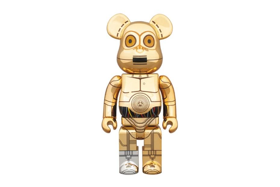 Image of Star Wars x Medicom Toy 400% C-3PO Bearbrick