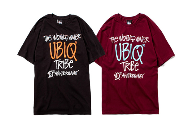 Image of UBIQ x Stussy T-Shirt Collection