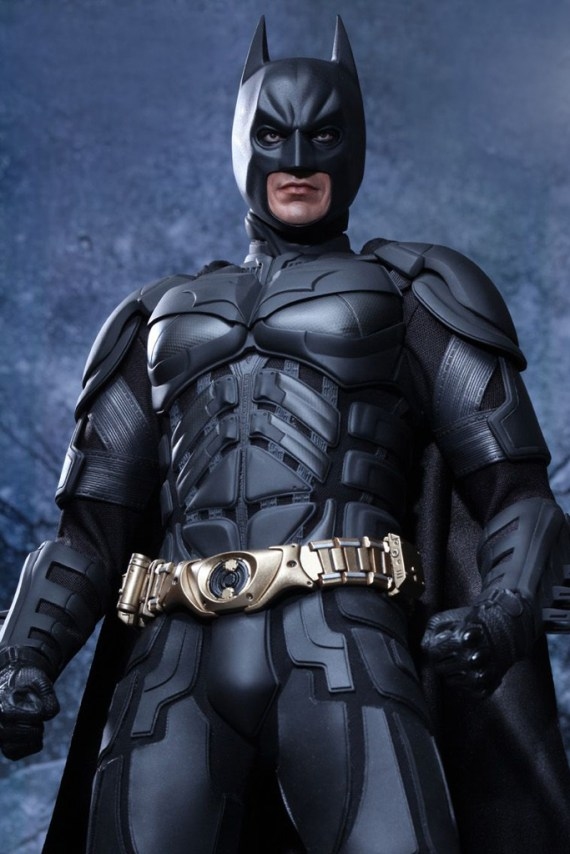 Image of The Dark Knight Rises Batman 1/4 Scale Figure by Hot Toys