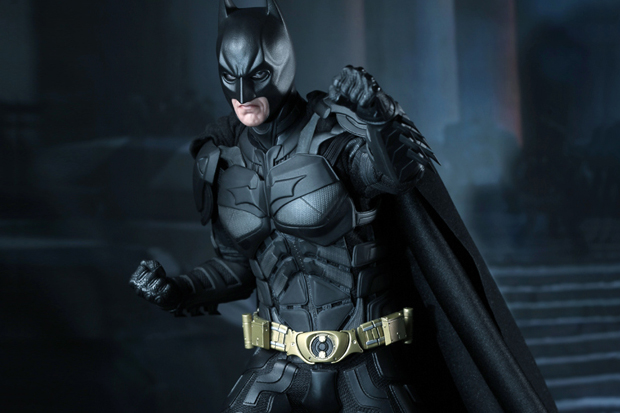 Image of The Dark Knight Rises Batman Figure by Hot Toys