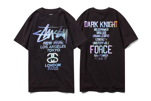 Image of The Dark Knight Rises Batman x Stussy T-Shirt Collection