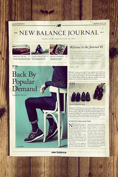 Image of The New Balance Journal Issue 1