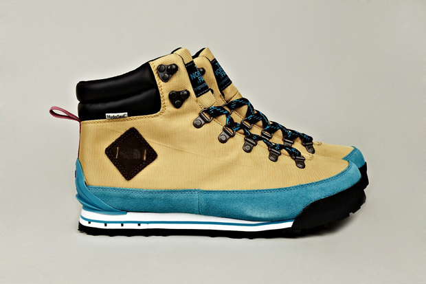 Image of The North Face 2012 Fall/Winter Back to Berkeley Hiking Boots Blue/Tan