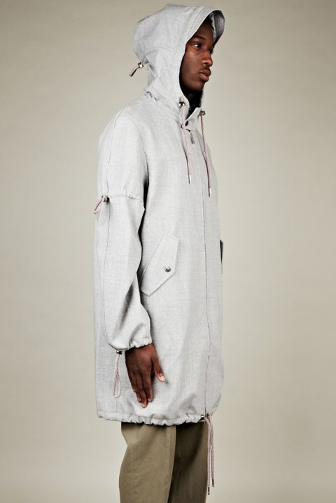 Image of Thom Browne 2012 Spring/Summer Technical Windbreaker Parka