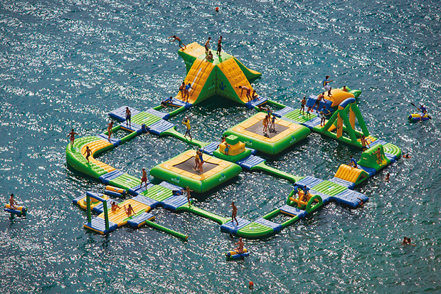 Image of Turn a Lake into a Waterpark with the Wibit Sports Park 60