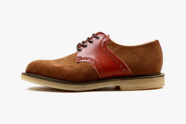 Image of Union x Mark McNairy x Sanders & Sanders Corduroy Saddle Shoe