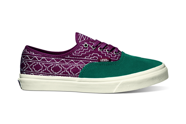"Image of Vans California 2012 Fall Authentic CA ""Native Embroidery"""
