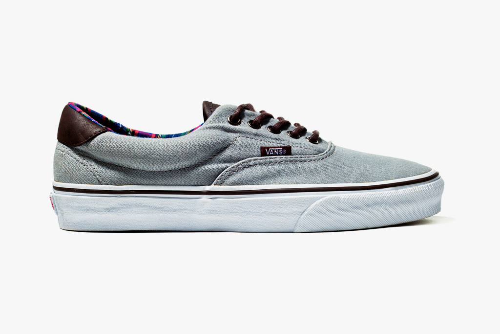 "Image of Vans California 2012 Fall Era 59 ""H&L"" Dove Grey"