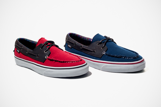 "Image of Vans Classics 2012 Fall Zapato Del Barco ""H&L"" Pack"