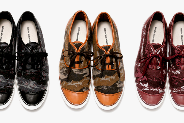 Image of White Mountaineering 2012 Fall Flannel Camouflage Leather Low