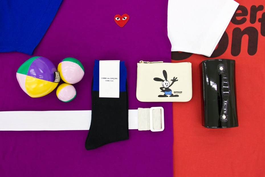 Image of Winner Announcement! Win a COMME des GARCONS Limited Edition Kit from NUMBER 3 Store!