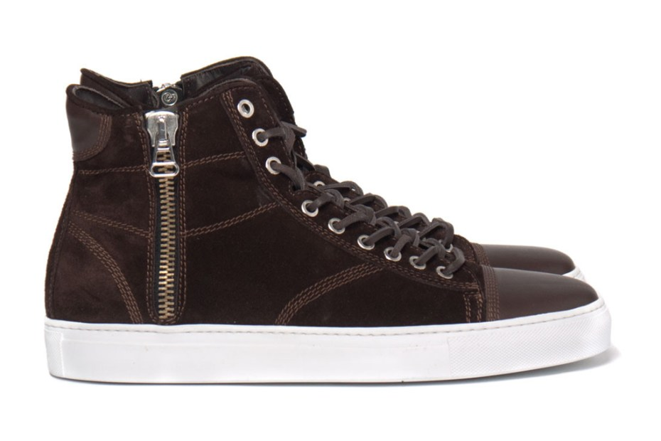 Image of wings + horns 2012 Fall/Winter High-Cut Suede Sneaker