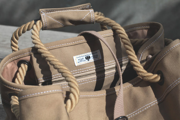 Image of WTAPS 2013 Spring/Summer Canvas Beach Bag