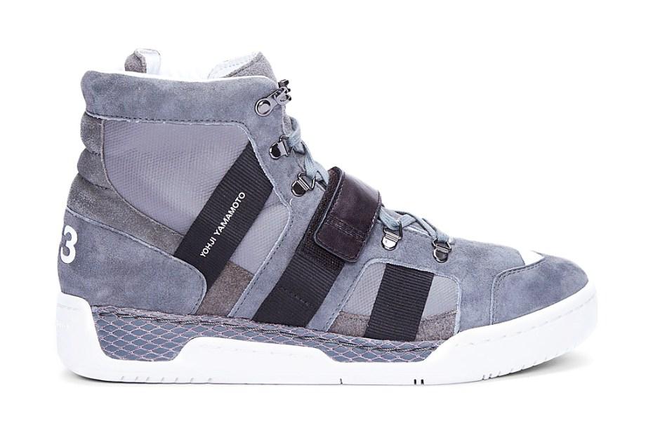 Image of Y-3 2012 Fall/Winter Grey Suede Held Sneaker