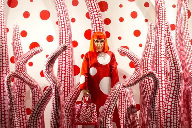 Image of Yayoi Kusama Restrospective @ Whitney Museum of American Art