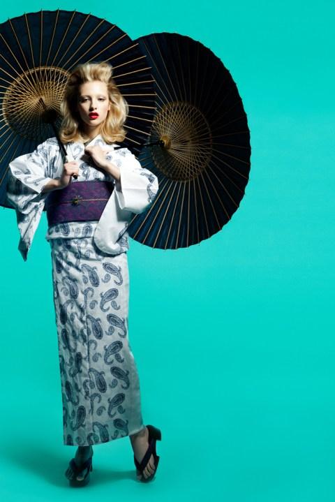 Image of Isetan Shinjuku 2012 Summer Teji Kimonos