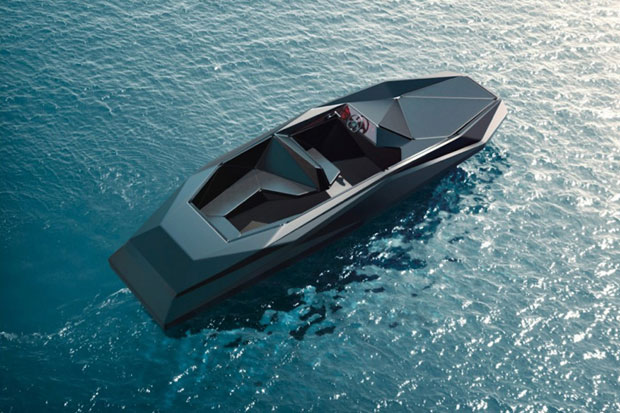 Image of Zaha Hadid's Luxury Z Speedboat by Shoreteam