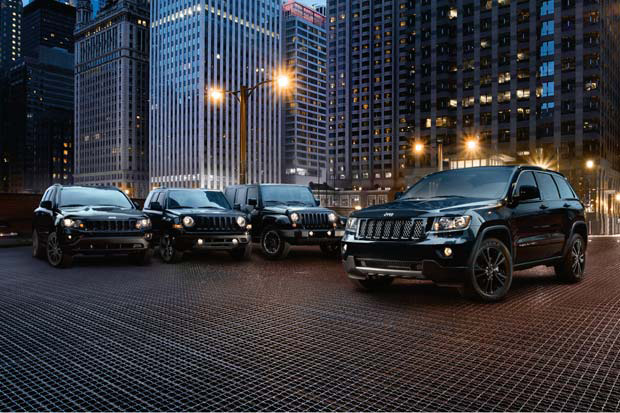 Image of 2012 Jeep Altitude Edition Lineup