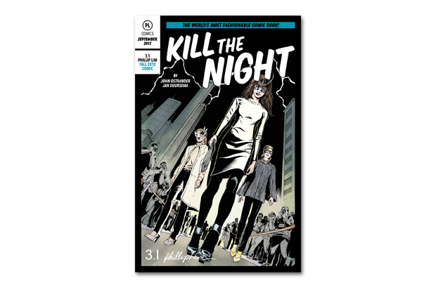 Image of 3.1 Phillip Lim 'Kill the Night' Comic Book