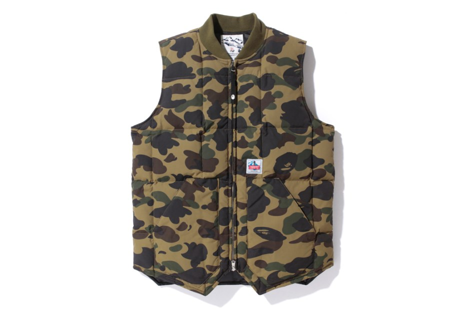 Image of A Bathing Ape 2012 Fall/Winter 1ST CAMO Down Vest