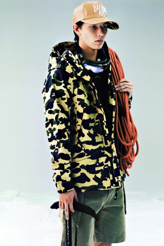 Image of A Bathing Ape 2012 Fall/Winter Collection Editorial