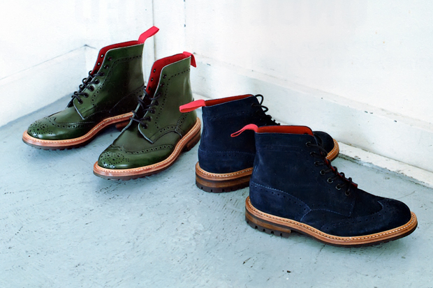 Image of A Bathing Ape x Trickers 2012 Fall/Winter Stow Boots