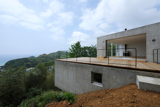 Image of 'A' House in Kisami by Florian Busch Architects