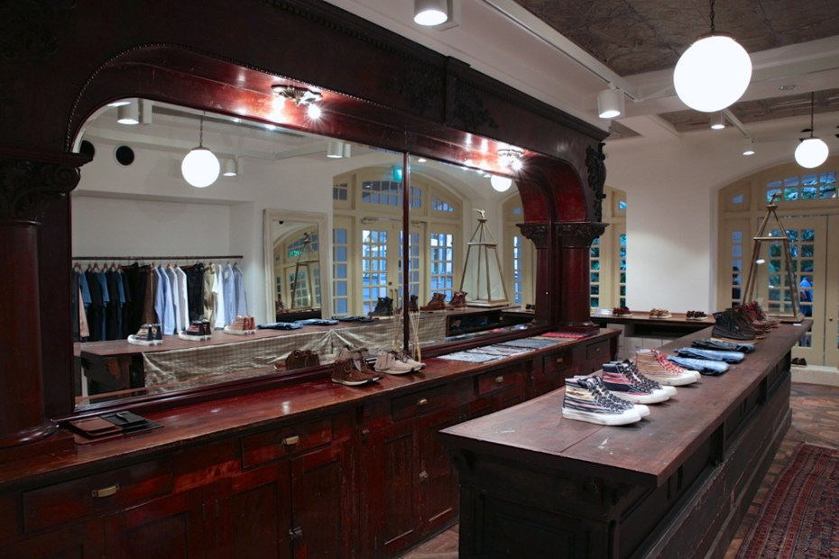 Image of A Look Inside visvim's F.I.L. Boutique in Singapore