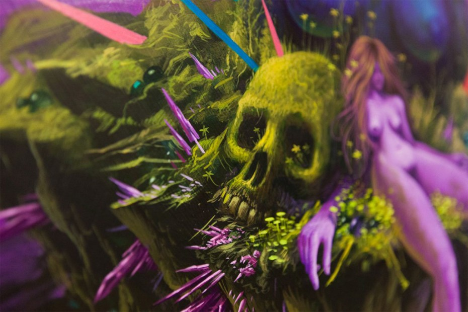"Image of A Studio Visit with Jeff Soto for the ""Decay and Overgrowth"" Exhibition"