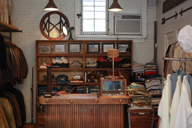 Image of A Visit to Stock Vintage in New York City