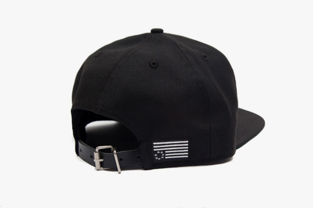 Image of A$AP Rocky x Black Scale New Era Strap Back