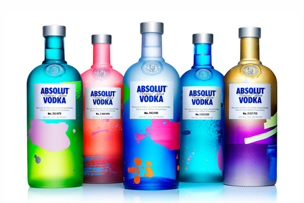 Image of ABSOLUT UNIQUE: 4 Million Uniquely Artful Bottles