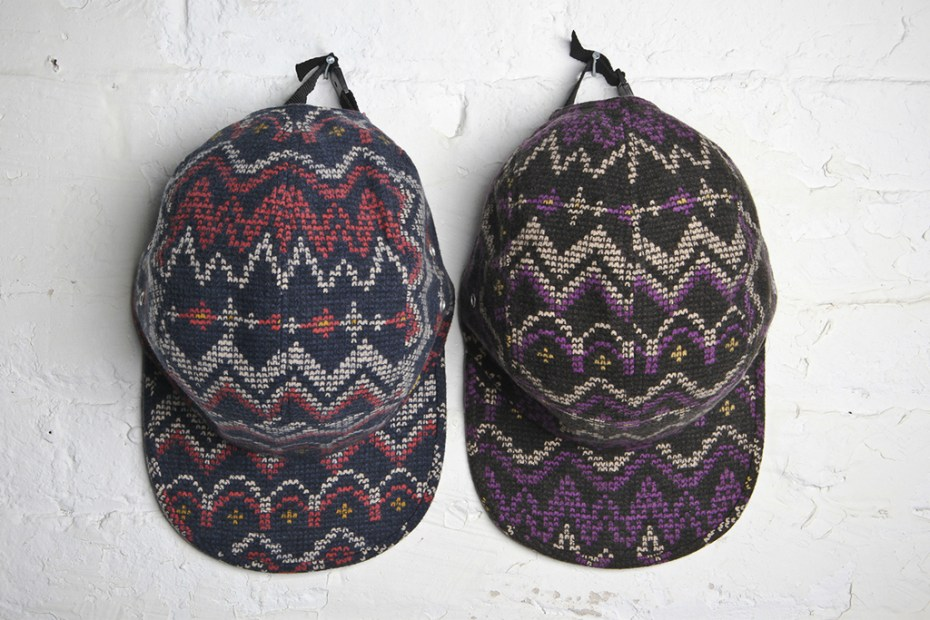 Image of Acapulco Gold Digital Fair Isle Camp Caps