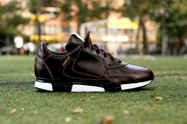 Image of adidas Originals by James Bond for David Beckham 2012 Fall/Winter ZX 800 Brown Leather