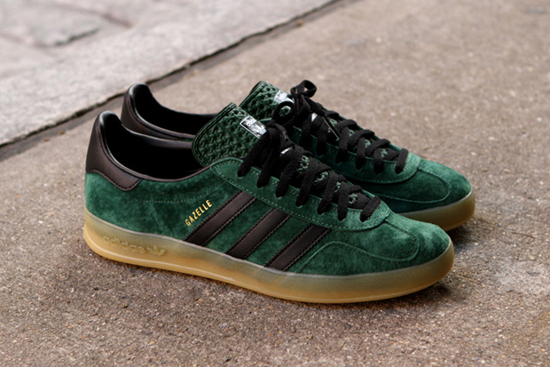 Image of adidas Gazelle Indoor Dark Green/Black