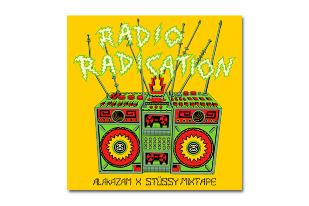 Image of Alakazam x Stussy RADIO RADICATION Mix