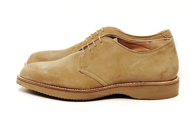 Image of Alden Beige Wedge Derby