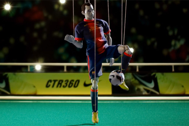 Image of Andres Iniesta Unveils the Creatively Shot CTR360 Maestri III Short Film