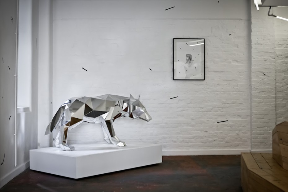 "Image of Arran Gregory ""WOLF"" Exhibition @ Print House Gallery"