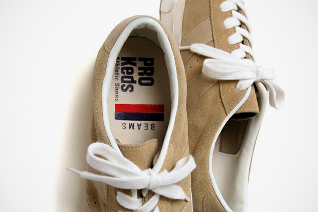 "Image of BEAMS x Pro-Keds Royal-Lo ""Sand"""