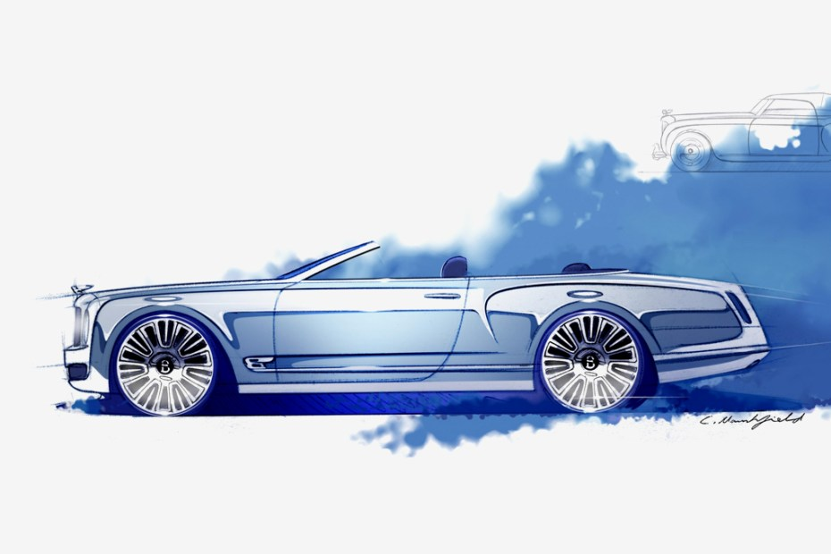 Image of Bentley Announces Mulsanne Convertible Concept