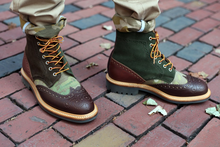 Image of Bodega x Mark McNairy Country Brogue Boot & Shoe