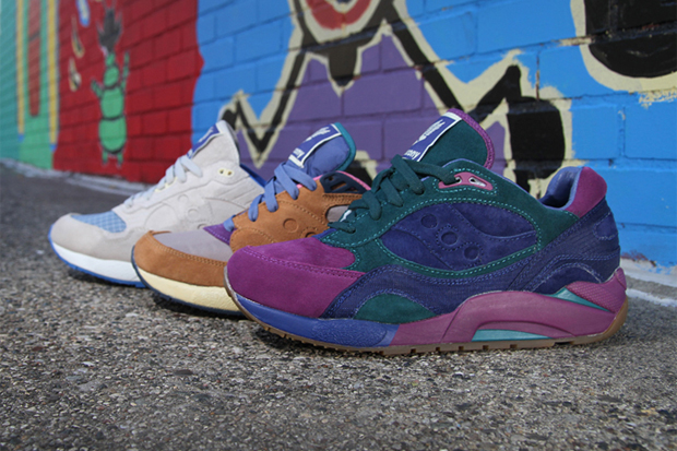 Image of Bodega x Saucony Elite G9 Collection