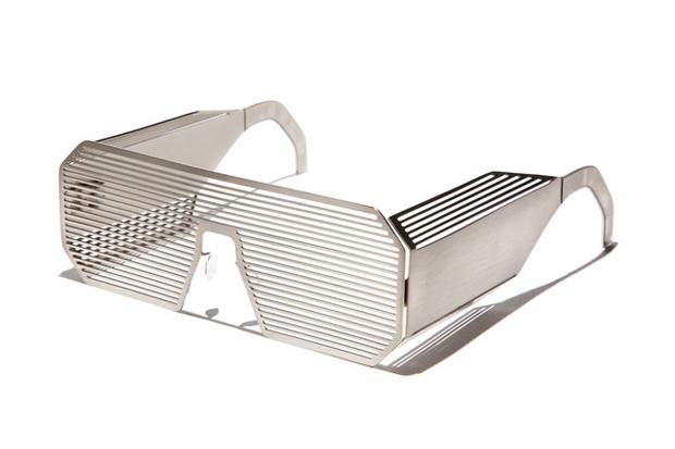 Image of Boris Bidjan Saberi x Linda Farrow Shutter Sunglasses