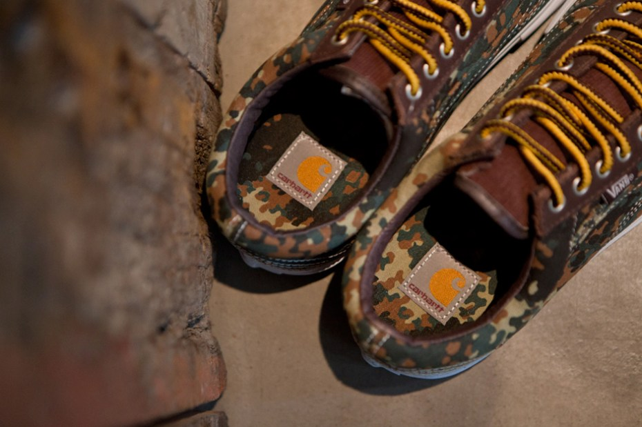 Image of Carhartt WIP x Vans Syndicate 2012 Fall Old Skool Camo