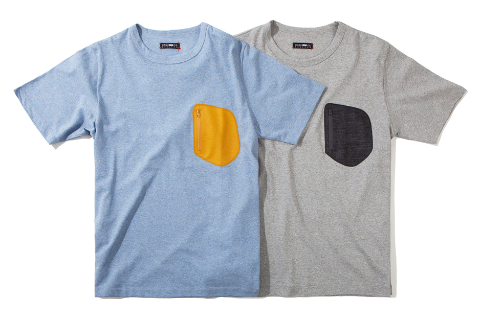 Image of CASH CA 2012 Fall/Winter Wool Pocket S/S T-Shirts