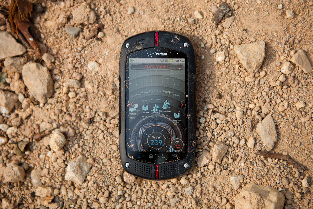 Image of Casio G'zOne Commando Smartphone Review