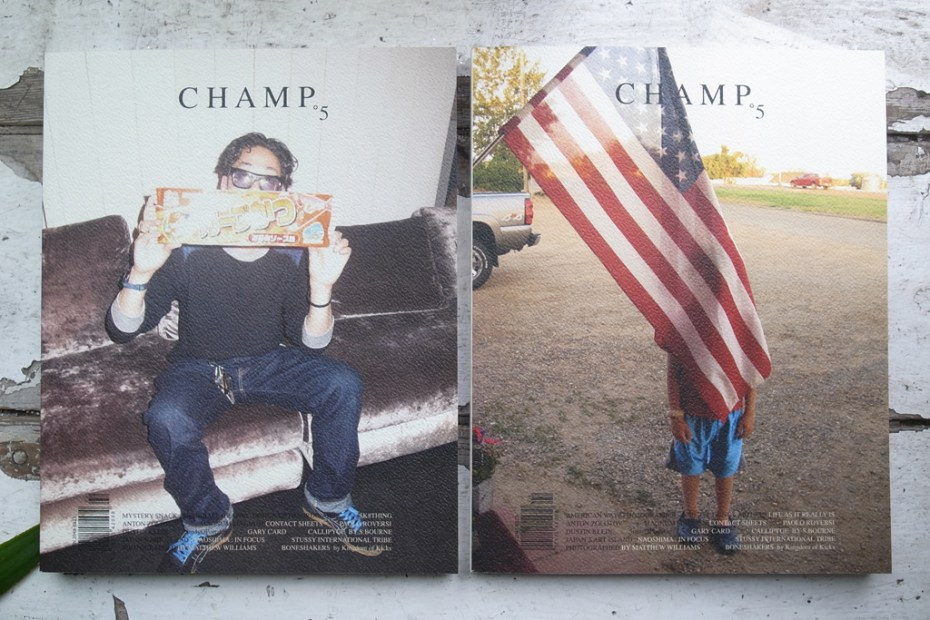 Image of CHAMP Magazine Issue 5