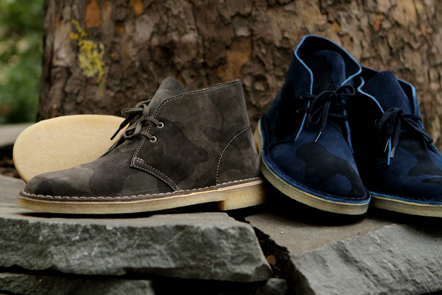 Image of Clarks Originals 2012 Fall/Winter Camo Collection