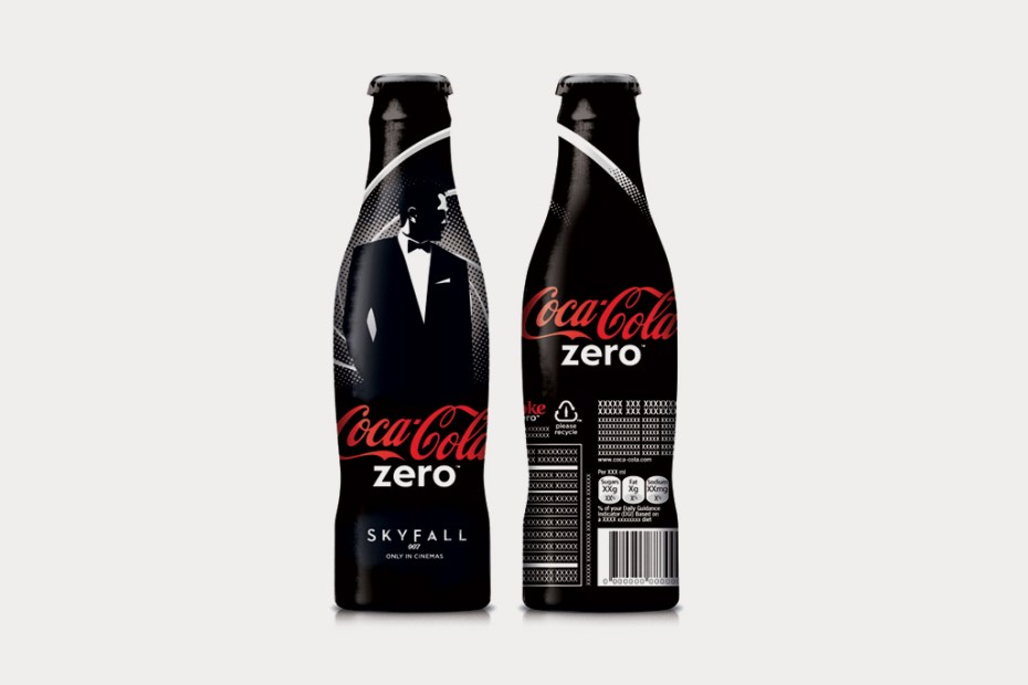 Image of Coca-Cola Unveils Limited Edition 'James Bond' Series